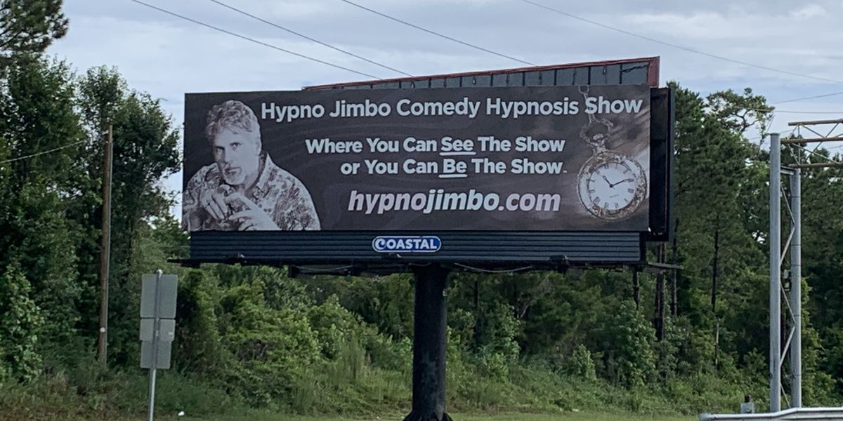 Myrtle Beach advertiser suing entertainer 'Hypno Jimbo' for nearly $73,000 in unpaid billboard rent