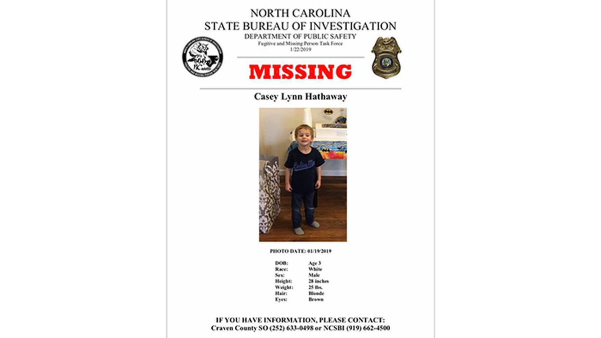 'Emergency search' underway for missing NC toddler