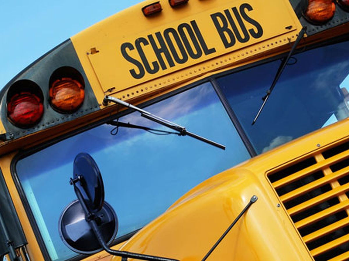 Students sent to hospital for evaluation following school bus crash