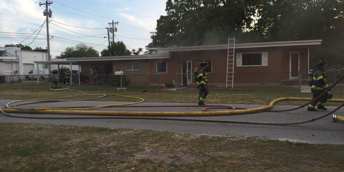 Crews respond to house fire in Myrtle Beach