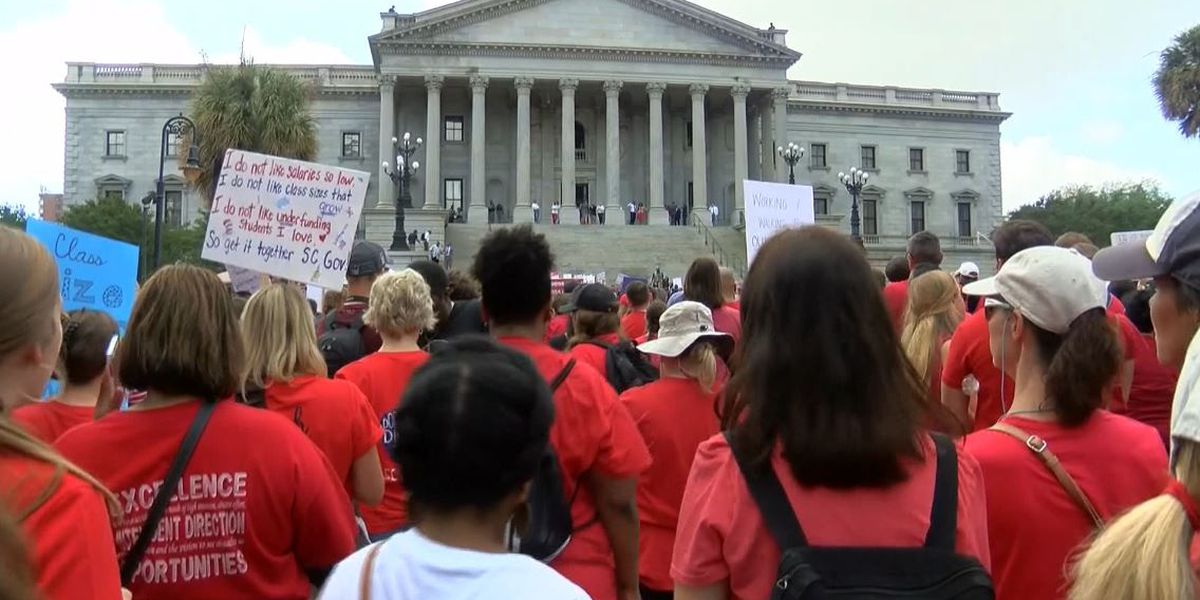 S.C. teachers group calls for use of personal day Wednesday for protest