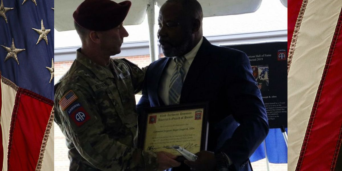 Pee Dee veteran inducted into 82nd Airborne Division Hall of Fame