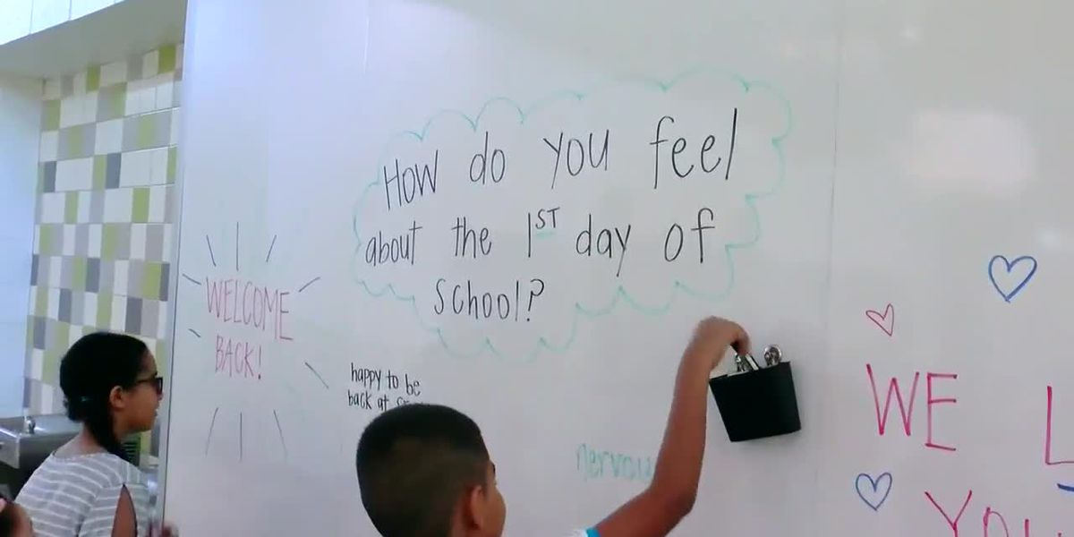 Student Spotlight: Observations on the first day of school