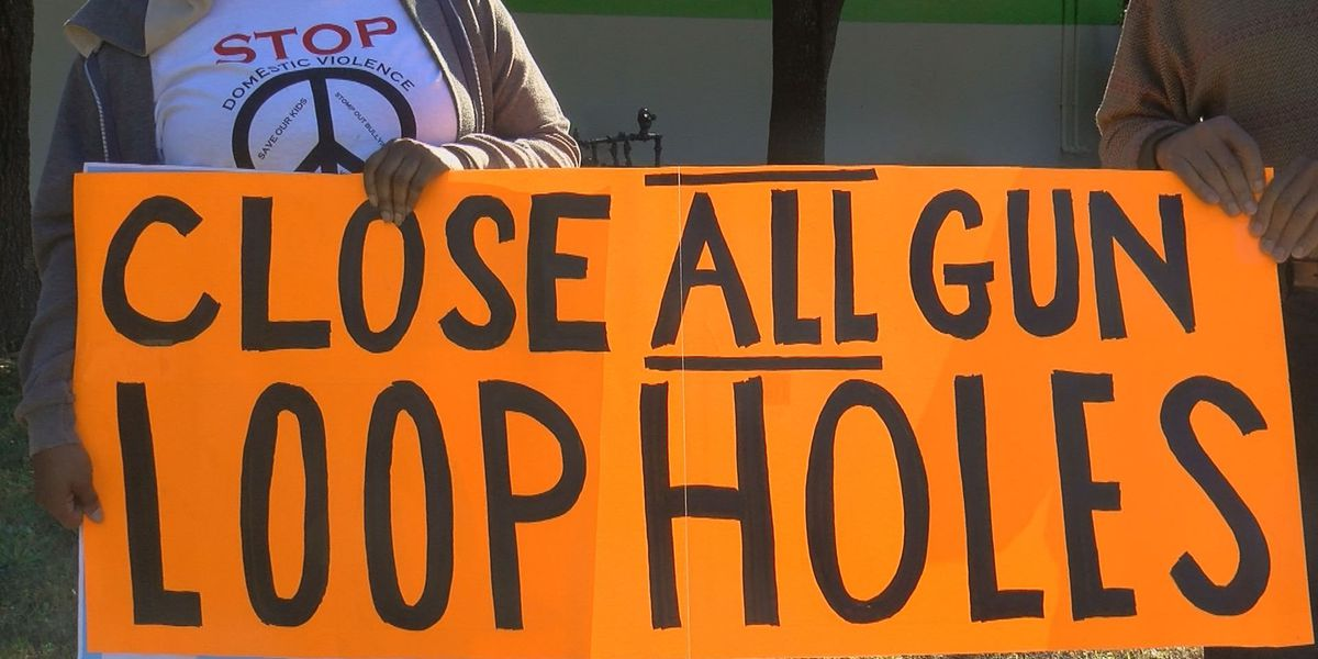 Protestors Gather Outside Of Myrtle Beach Gun Show