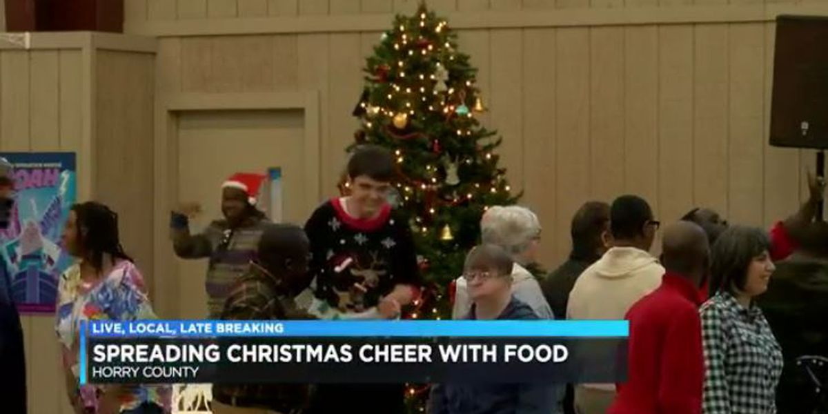 Christmas luncheon held for Horry County special needs adults and children