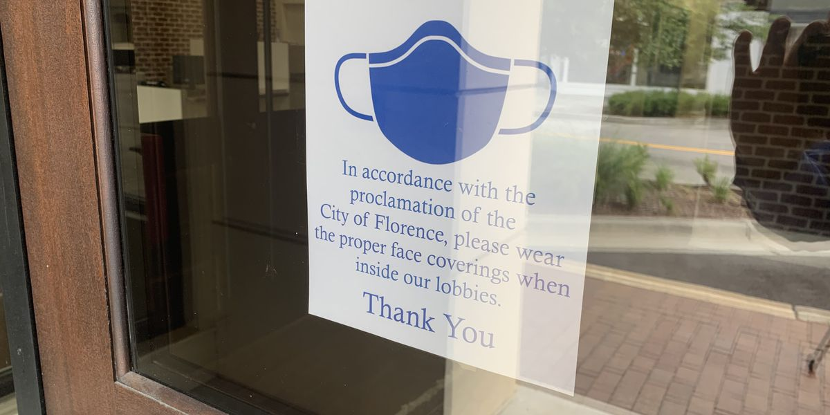 Many Florence residents, businesses follow face mask proclamation on first day