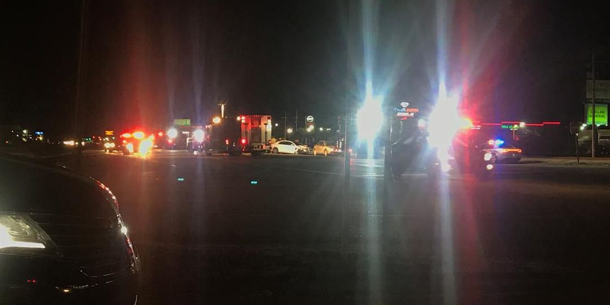 Two lanes of U.S. 501 northbound at Carolina Forest Boulevard closed due to traffic crash