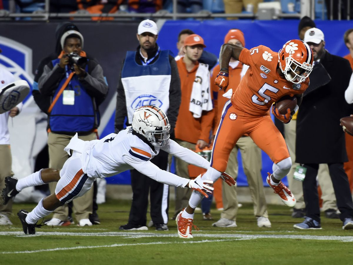 Record night for Lawrence, Higgins help Tigers blow out Virginia for 5th straight ACC Championship
