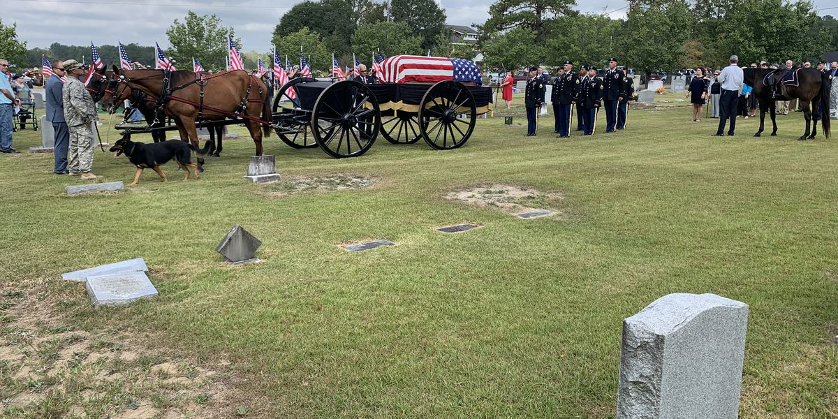 Military funeral held for Dillon soldier killed almost 70 years ago in Korean War