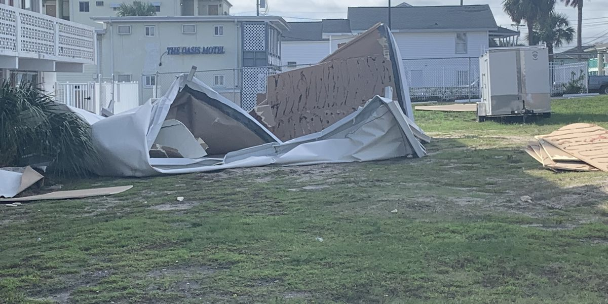 Community helps Myrtle Beach inn owner after storms rip off roof