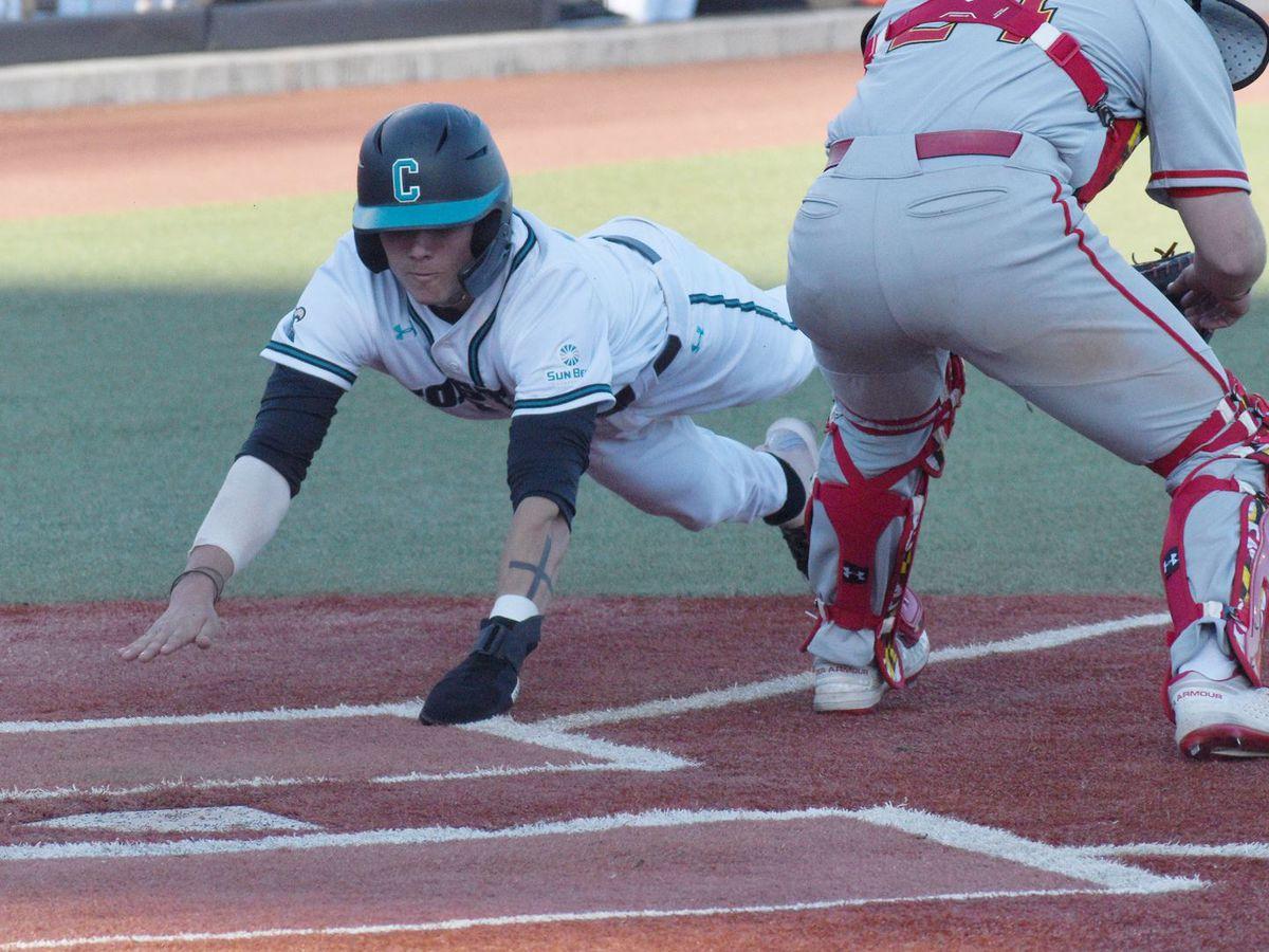 CCU baseball to play full schedule in 2021