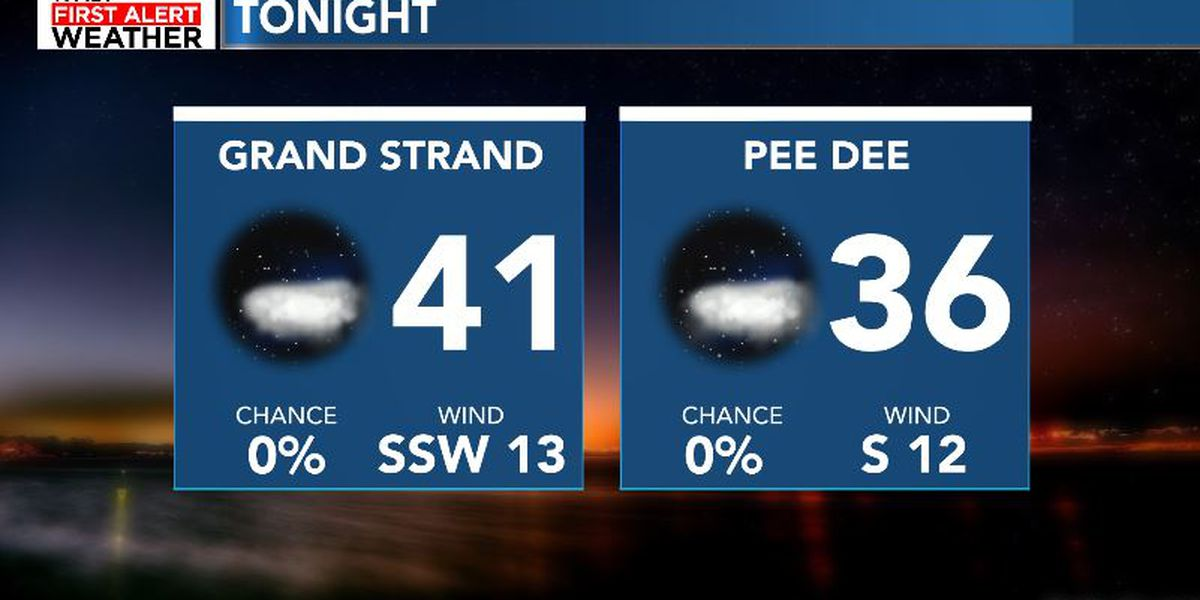 FIRST ALERT: Clear and cool into Tuesday