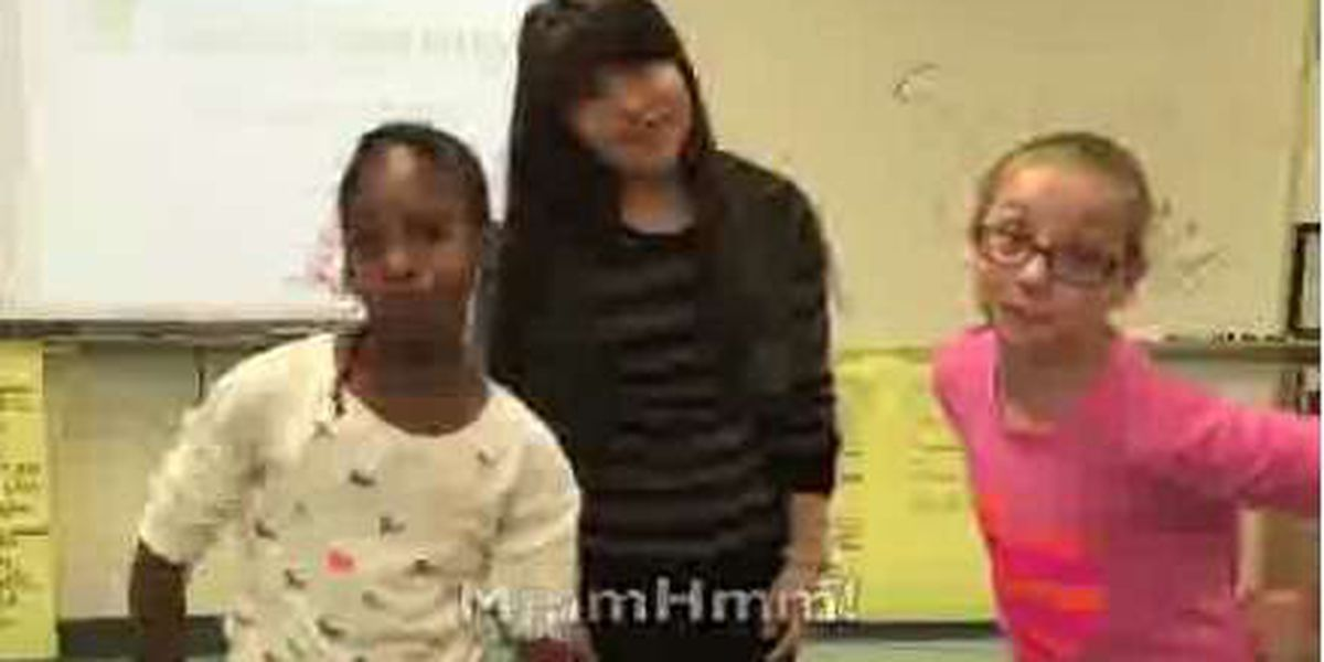 Conway Elementary school class become finalists in video contest