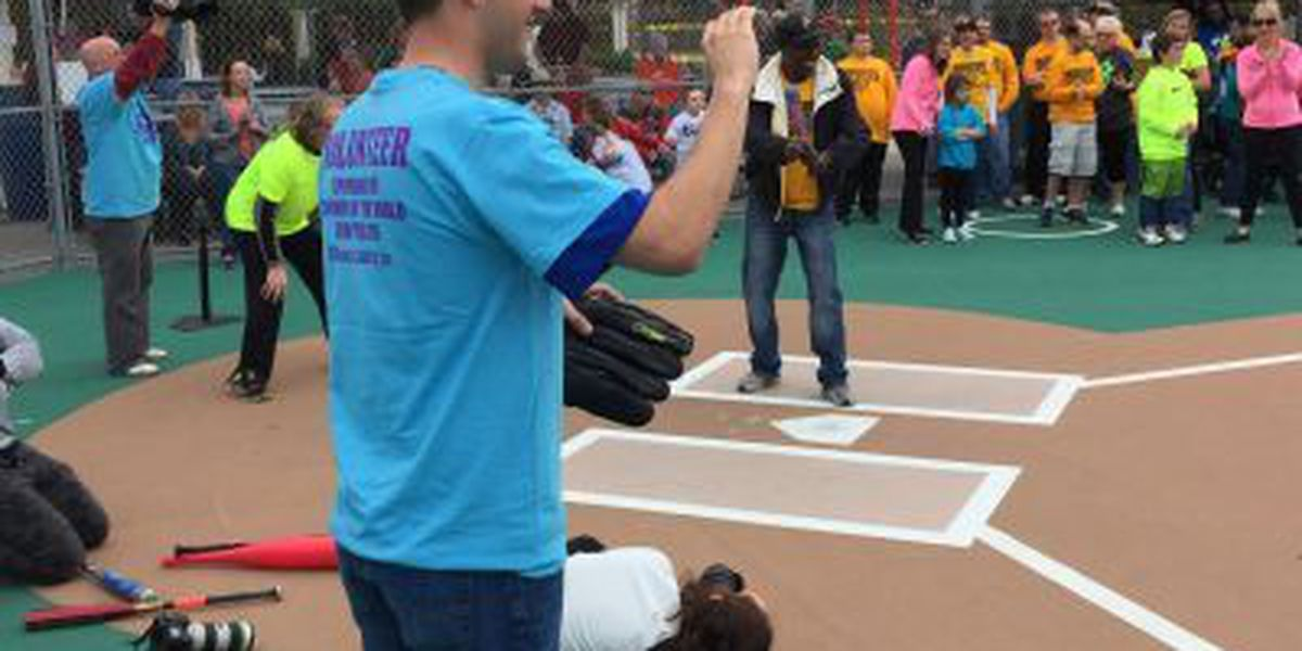 WMBF News joins Grand Strand Miracle League for Spring Opener
