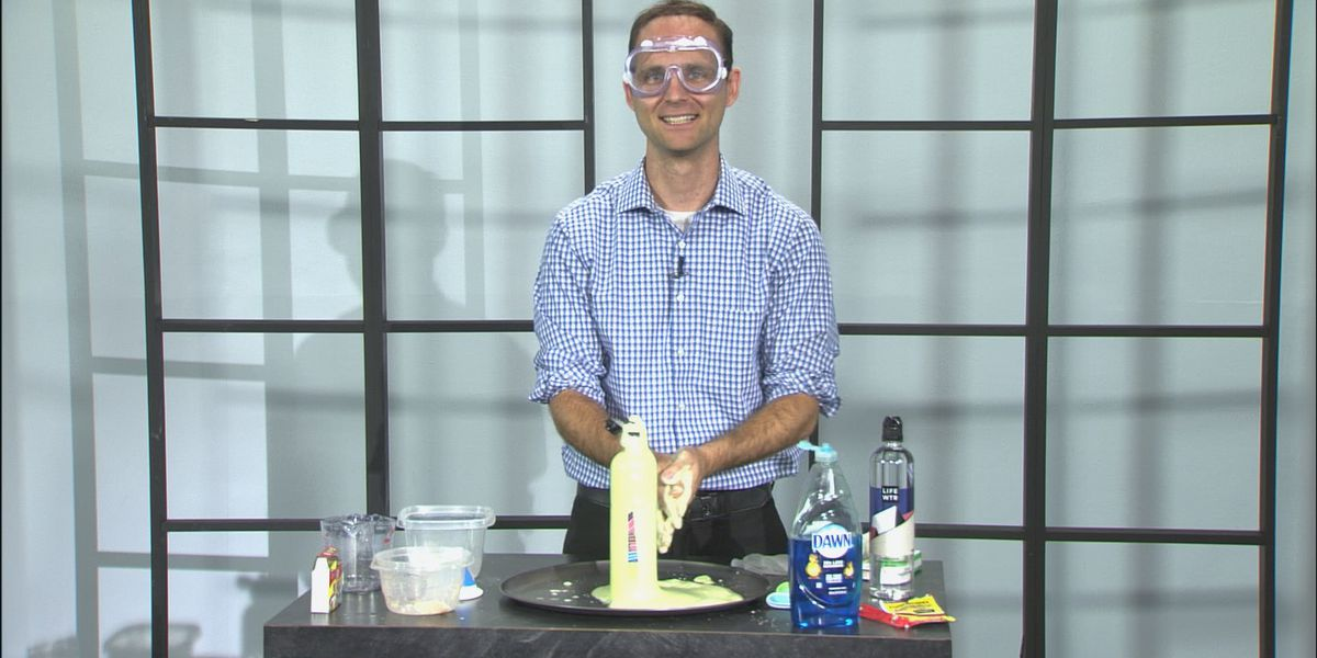 Science with Sean: Foam Fountain