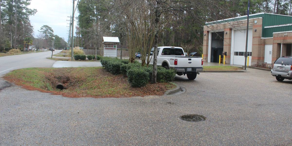 Road widening project threatens Forestbrook fire station
