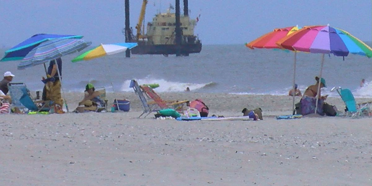 MBFD reminding beachgoers of beach umbrella safety after video goes viral