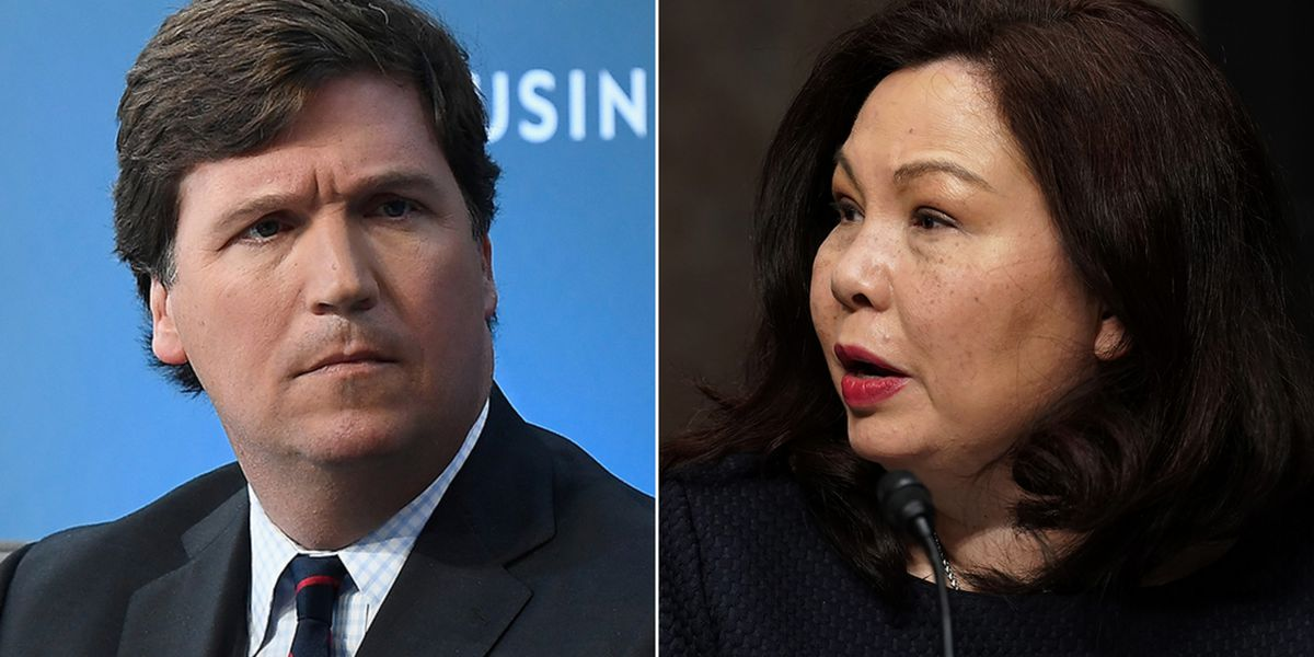 Fox's Carlson criticized for saying Democrats, Duckworth hate America