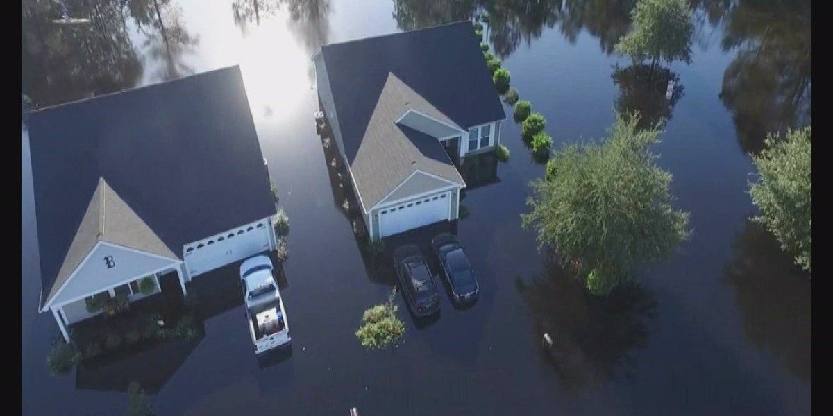 Local photographer uses drone to document historic flooding