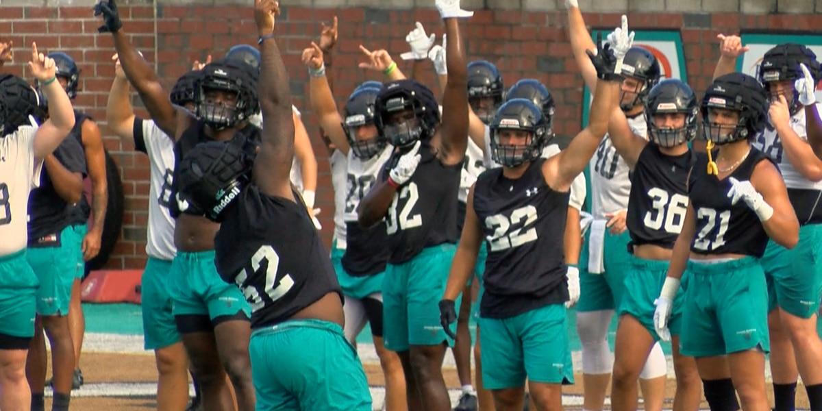 'We're fired up': CCU football players, coach grateful to be in game week