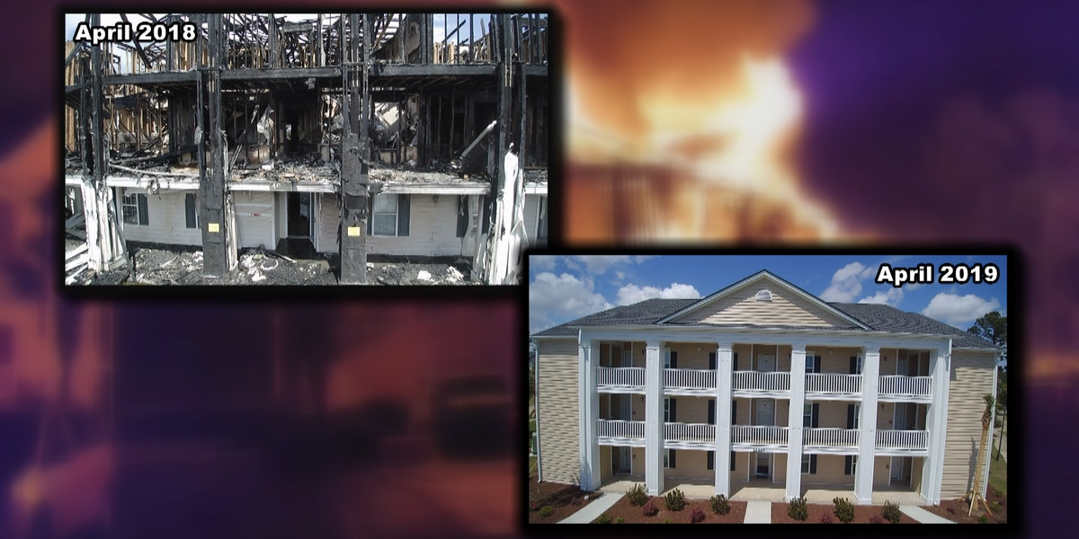 New building up at Windsor Green nearly one year after devastating fire