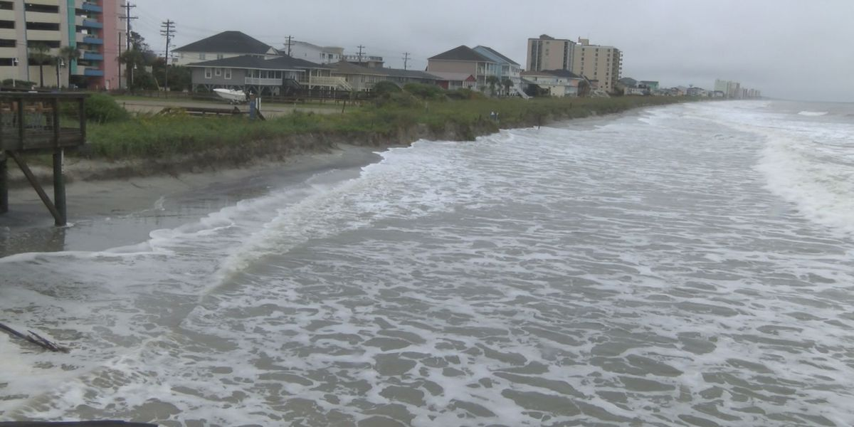 Cherry Grove erosion leads to greater risk of flooding