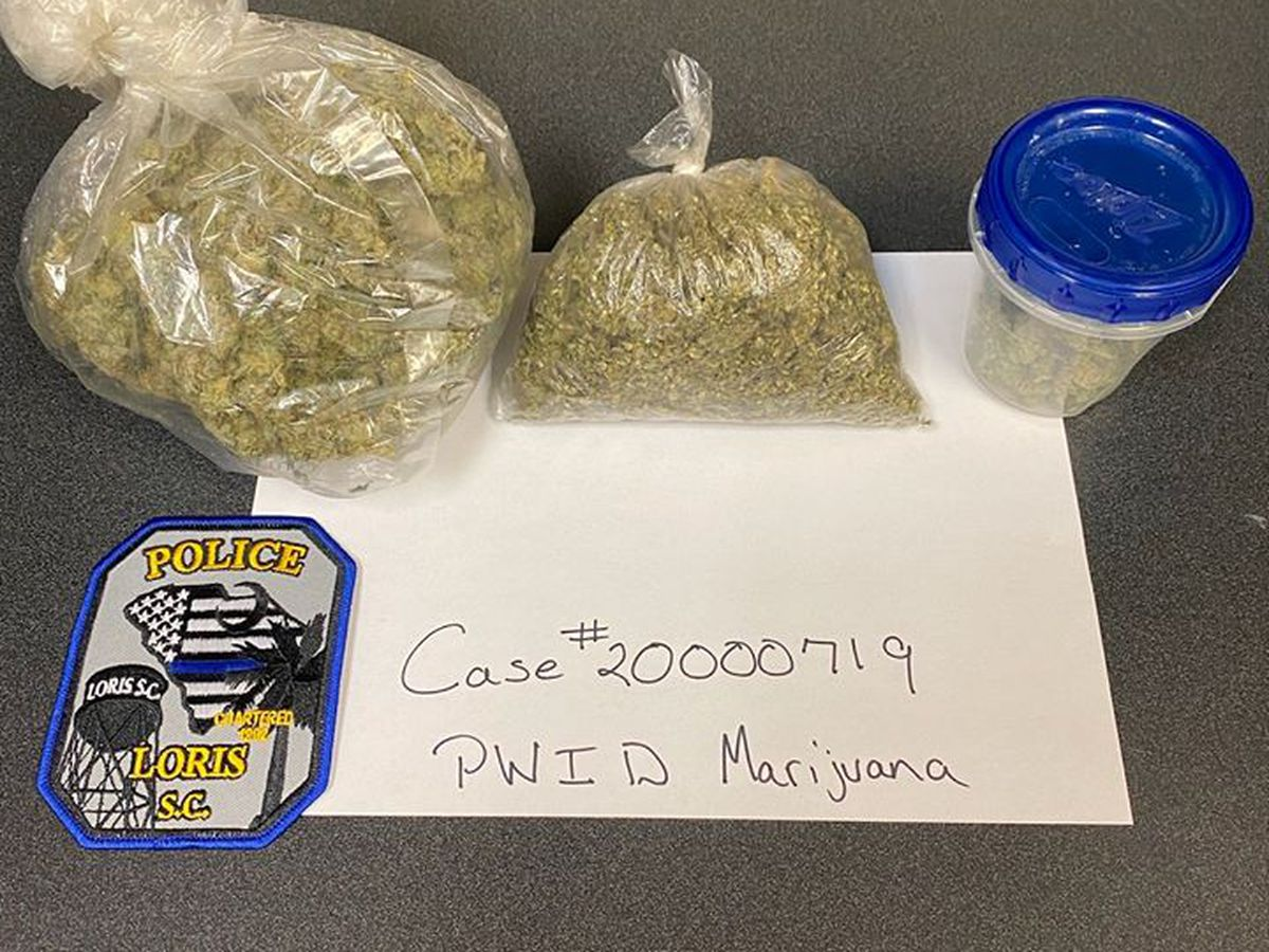 Loris man charged after 300 grams of pot found in car on school property