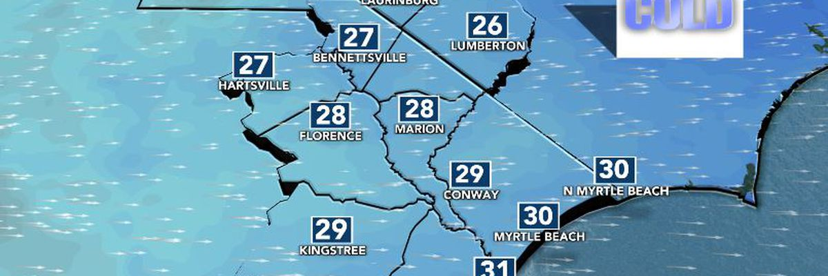 FIRST ALERT: Dramatic temperature drop on the way
