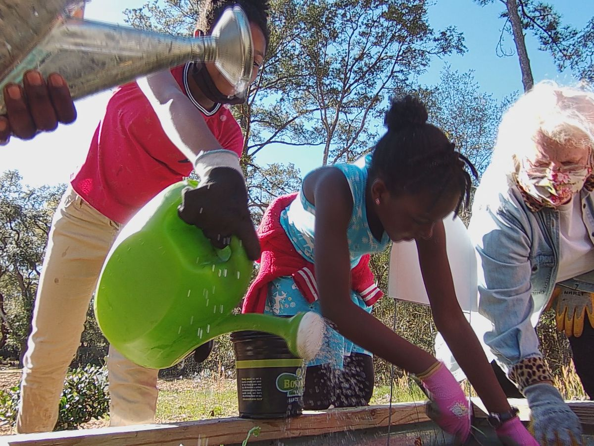 This is Carolina: After-school 'field trip' garden helps keep thousands fed