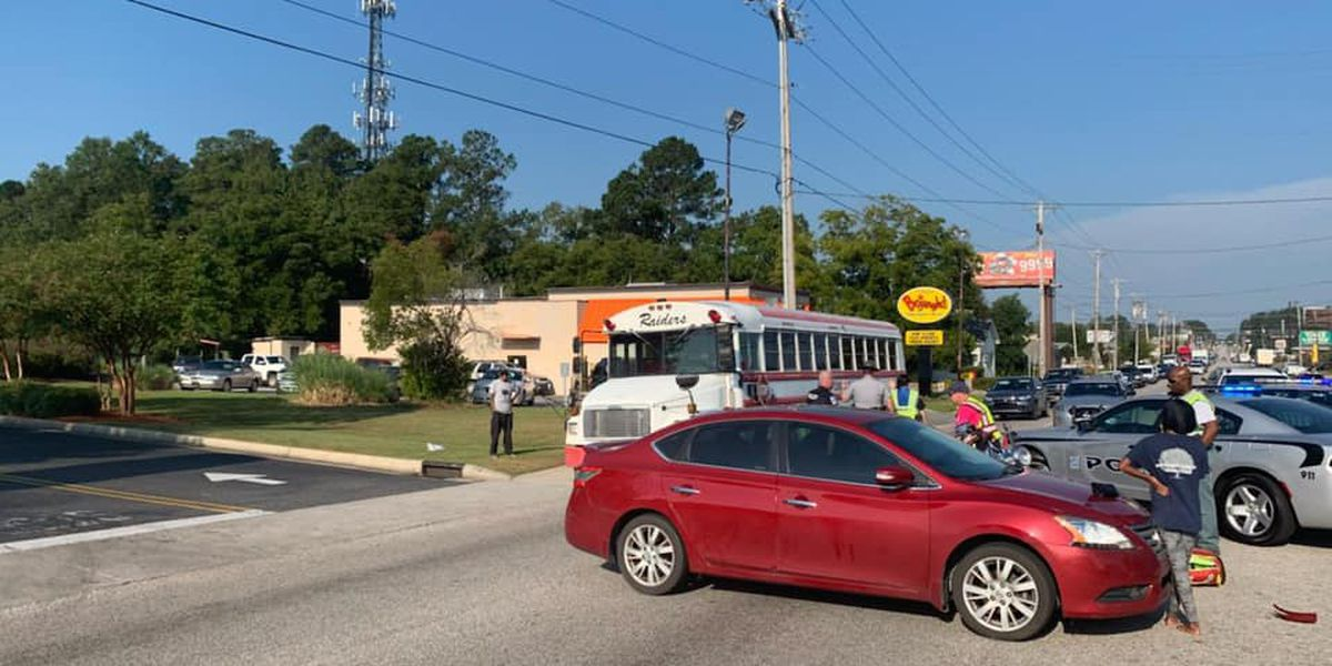 Motorcycle crash snarls traffic in Conway; two taken to hospital