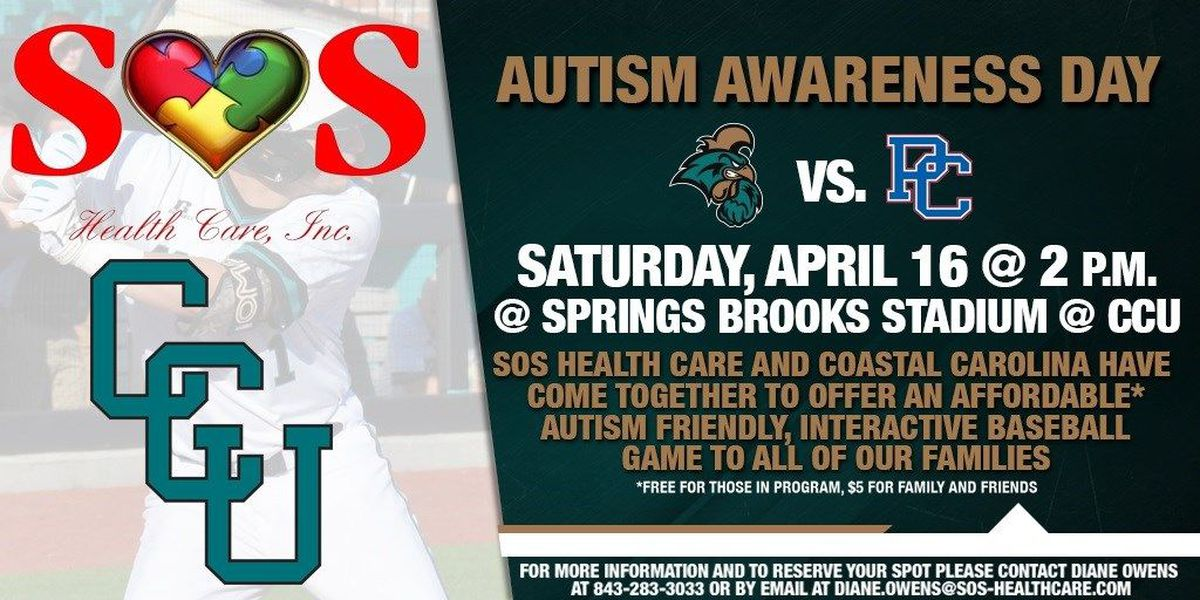 Batter up: Autism-friendly baseball game coming to CCU
