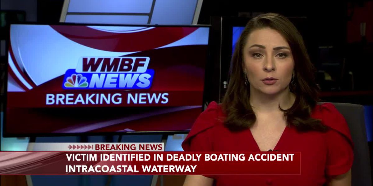 Coroner identifies victim in fatal boat crash along Intracoastal Waterway; one person facing charge