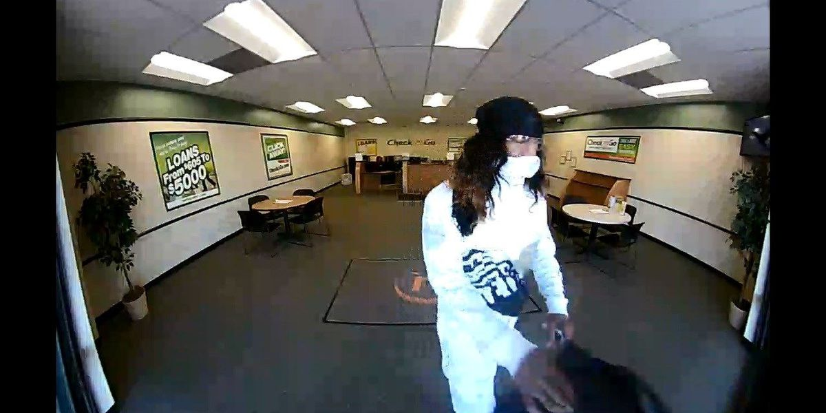 Florence County law enforcement seek suspect who robbed Check and Go
