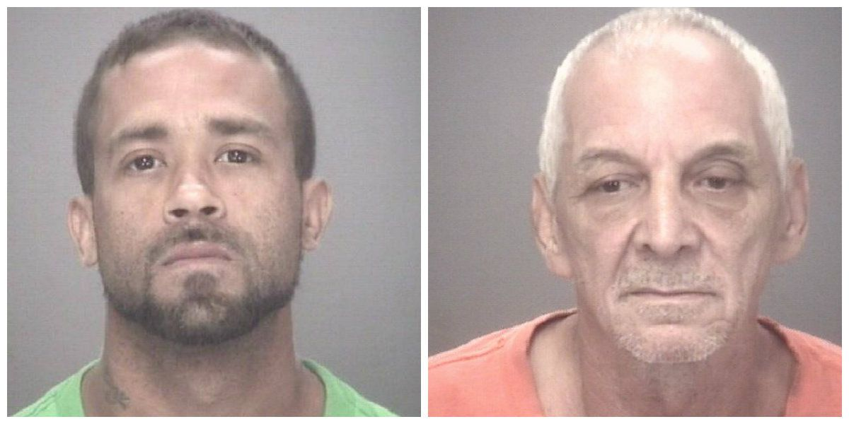 Two charged after vinyl siding, trailer stolen