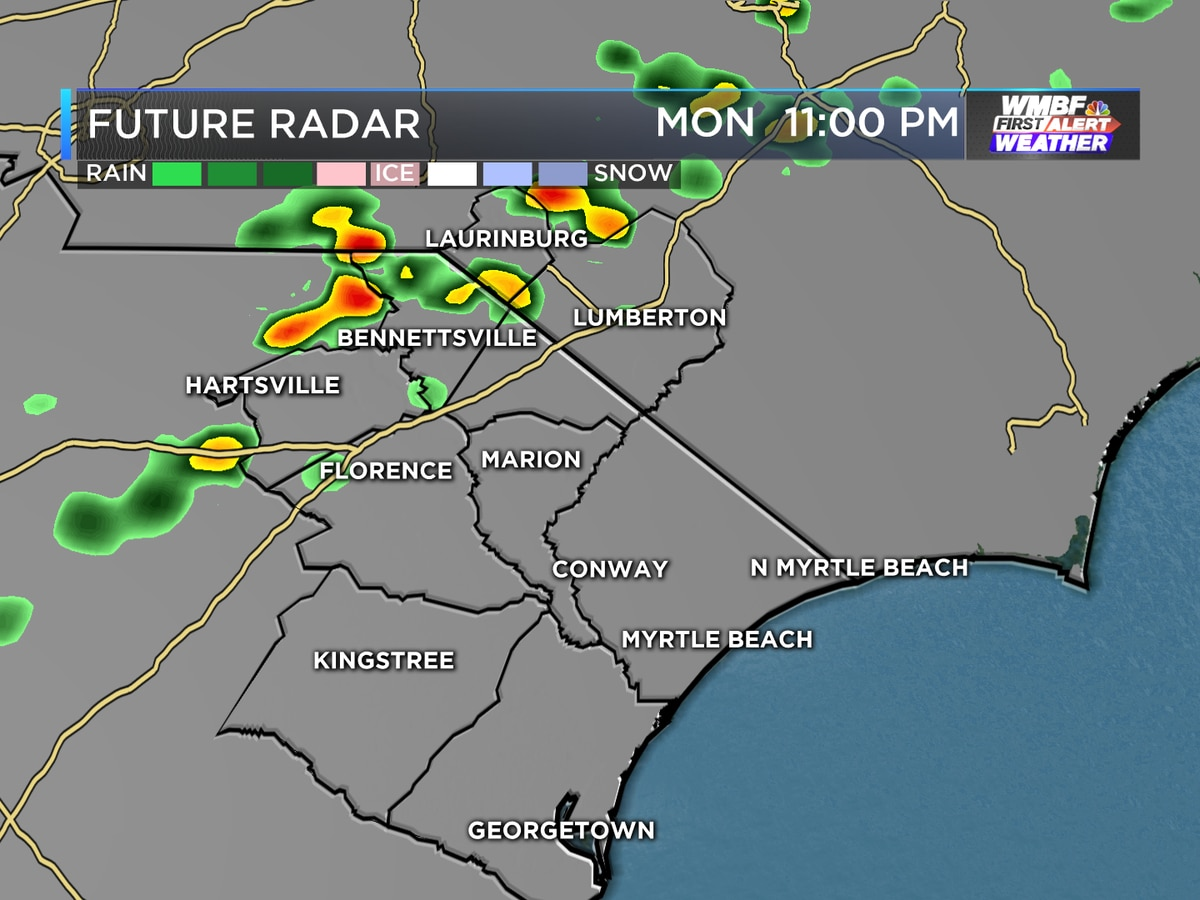 First Alert: Another warm start to the week, isolated shower chance possible