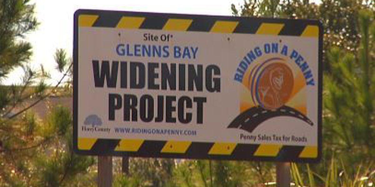 Prep work begins for Glenns Bay Road widening