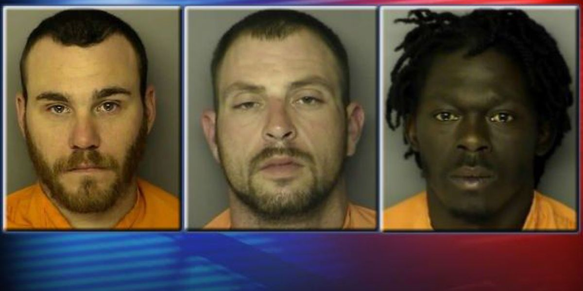 3 men wanted by Horry County officials