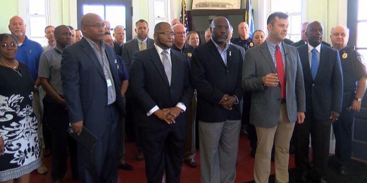 Team of faith announces partnership with law enforcement