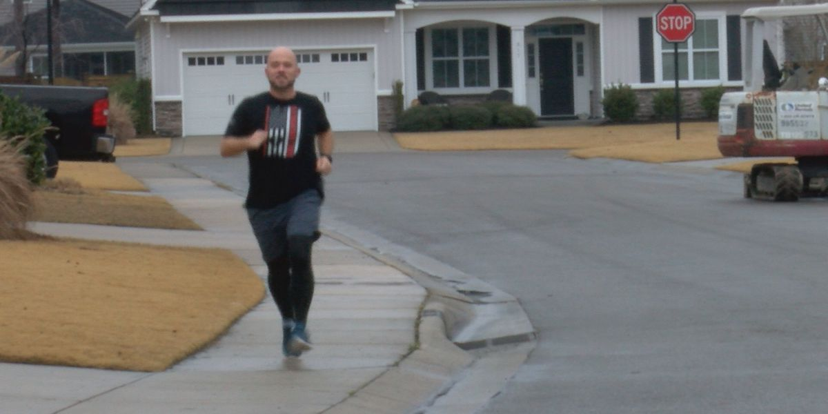 Wilmington man runs 900 miles and counting to raise money for veterans