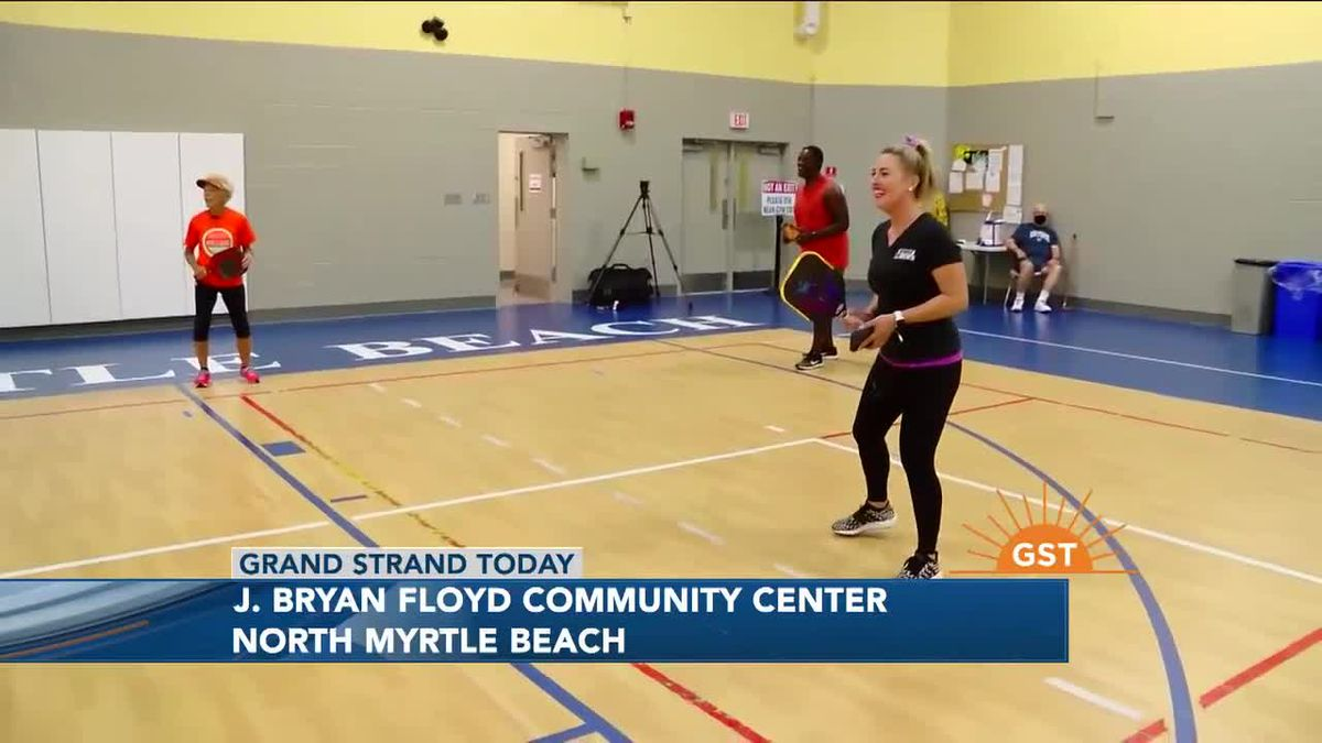 Derrion challenges Halley to a Fitness Fun Friday