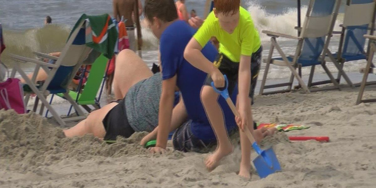 Emergency room sees rise in sunburns and heat exhaustion cases