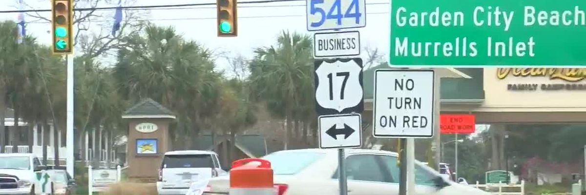 Highway 17 Business construction