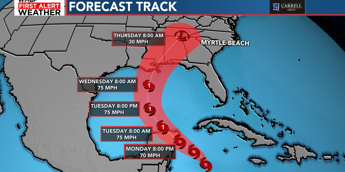 FIRST ALERT: Zeta forecast to become a hurricane Tuesday