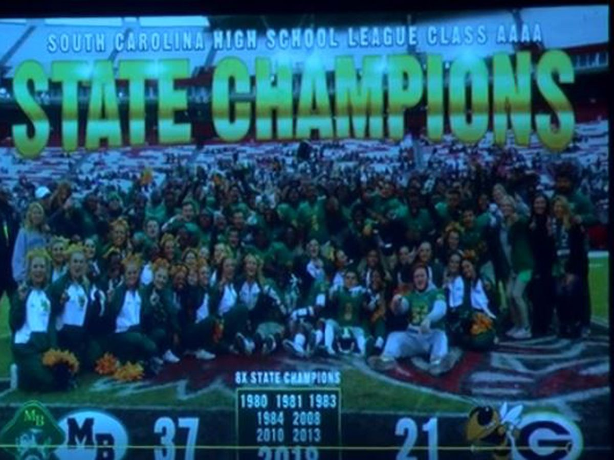 Myrtle Beach Seahawks celebrated by the city after winning football state championship