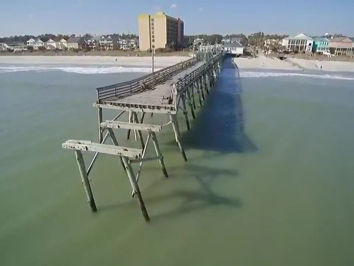FEMA grants extension on Surfside Beach pier construction project