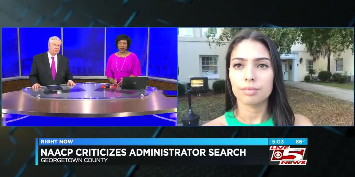 VIDEO: Georgetown Co. NAACP criticizes county administrator search