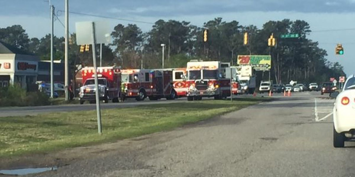 TRAFFIC ALERT: Accident blocks Hwy. 17 Bypass at 38th Ave. North