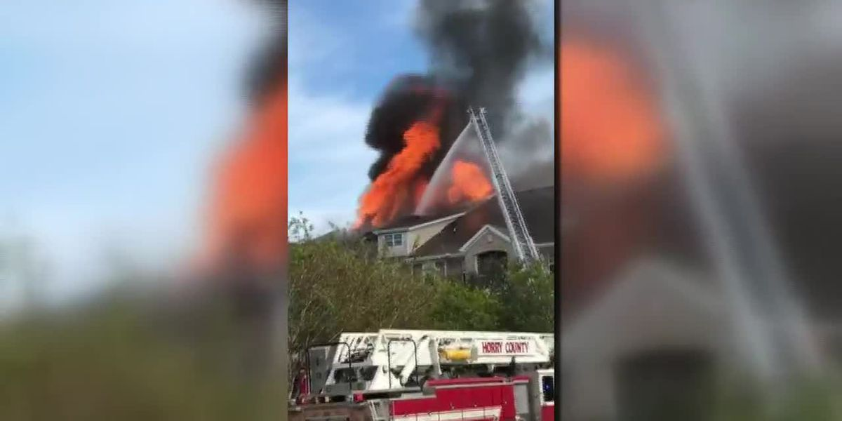 Multiple crews respond to fire in North Myrtle Beach