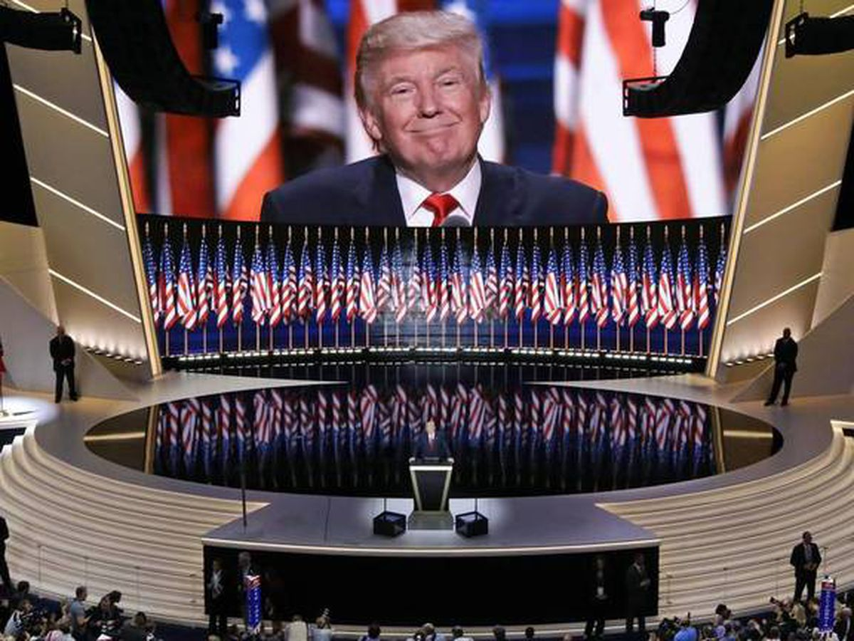 Trump 'would like' RNC to stay in Charlotte despite threatening to pull out if space can't be 'fully occupied'
