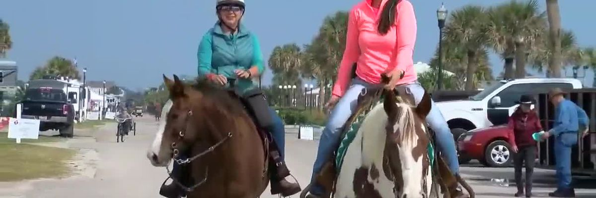 Horses take over Grand Strand to benefit American Heart Association